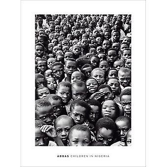 Kinder in Nigeria Poster Print von Abbas (24 x 32)
