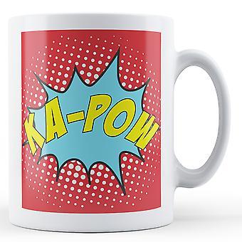 Ka-Pow Pop arte caneca - caneca impressa