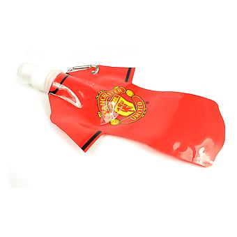 Manchester United Foldable water bottle With Carabiner 350 ml