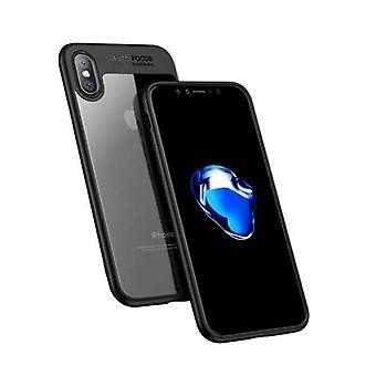 Stuff Certified ® iPhone XS - Car Focus Armor Case Cover Cas Silicone TPU Case Black