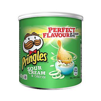 Pringles Sour Cream und Zwiebel Chips