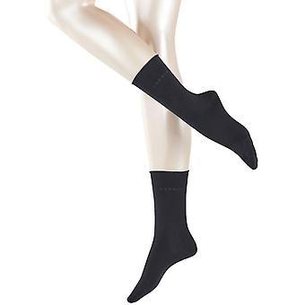 Esprit Basic Pure 2 Pack Socks - Black