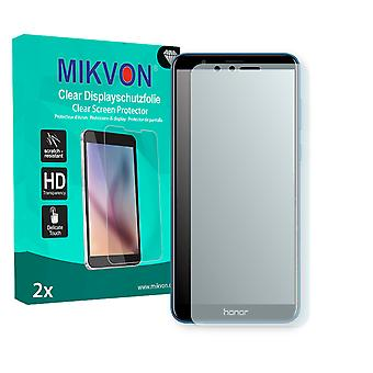 Honor 7X Screen Protector - Mikvon Clear (Retail Package with accessories) (reduced foil)