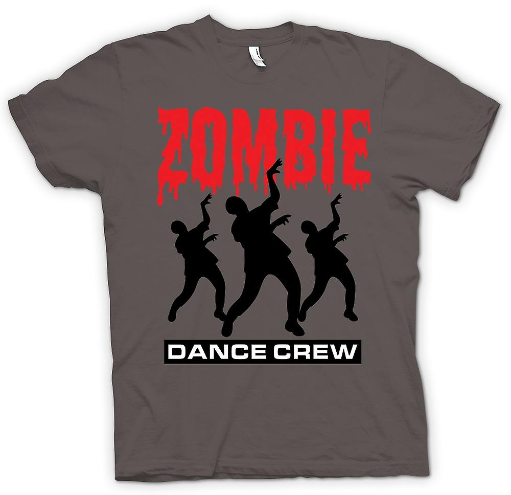 Womens T-shirt - Zombie Dance Crew - Funny Horror