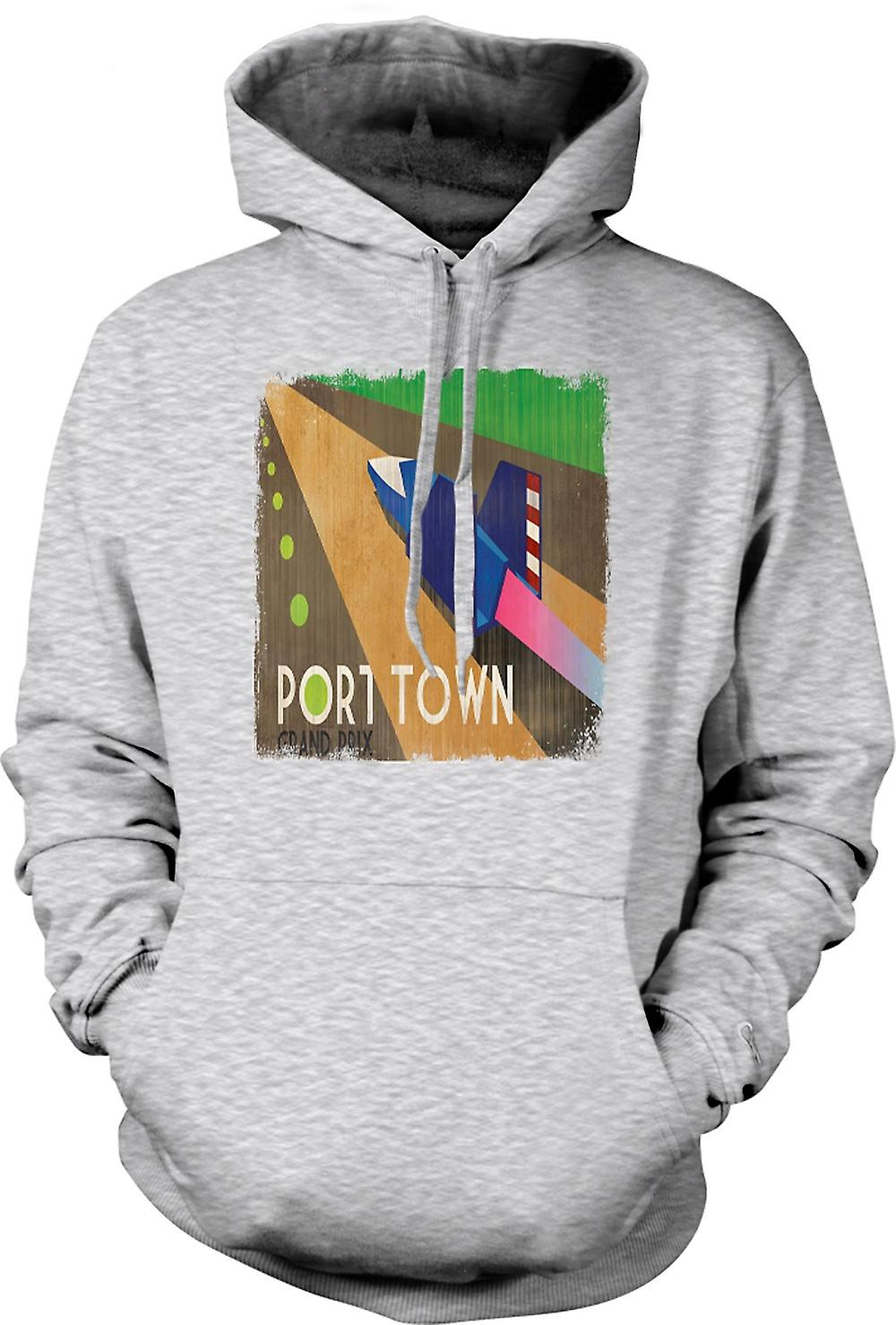 Mens Hoodie - F Zéro Port Town - Grand Prix - Gamer