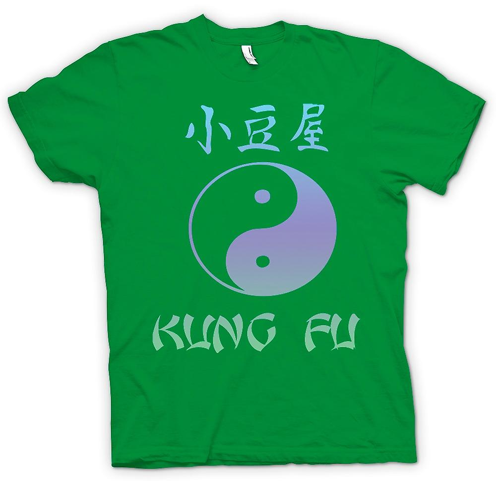 Mens T-shirt - Kung Fu - Ying Yang