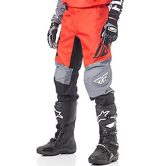 Fly Racing Red-Black-Grey 2019 F-16 MX Pant