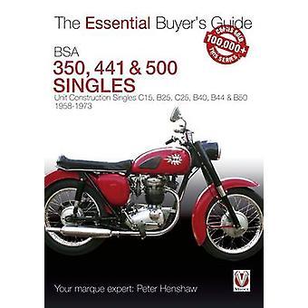 BSA 350 & 500 Singles by Peter Henshaw - 9781845847562 Book