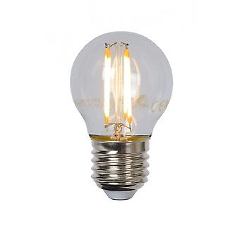 Lucide Bulb G45 Filament Dimmable E27 4W 320LM 2700K