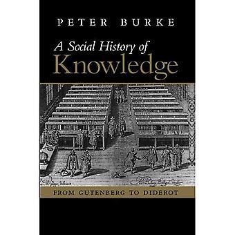 En Social historia av kunskap: från Gutenberg till Diderot