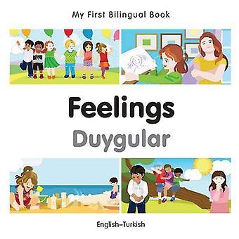 Min första tvåspråkiga bok - känslor - Turkiska-Svenska