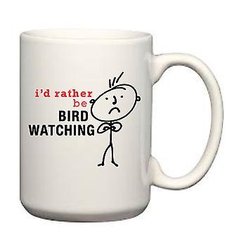 Men's I'd Rather Be Bird Watching Man Mug