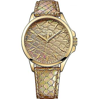 Juicy Couture 1901162 Ladies' Jetsetter Gold Tone Watch