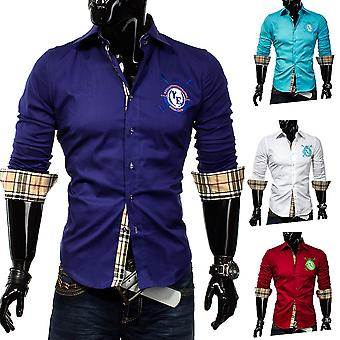 Men's Long Sleeve Vintage Golf Club Y Polo shirt shirt men's shirt