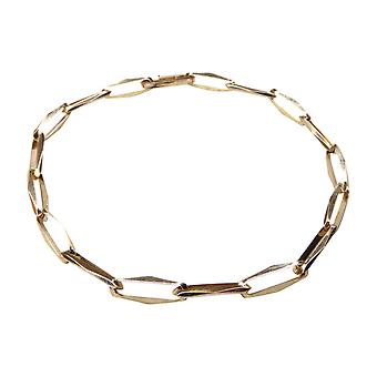 Gold closed forever bracelet
