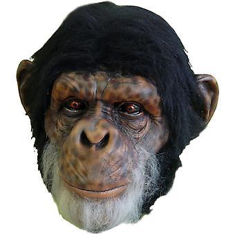 Chimp Latex Mask For Adults