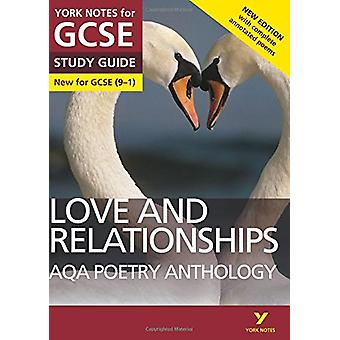 AQA Poetry Anthology - Love and Relationships - York Notes for GCSE (9