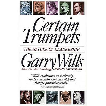 Bepaalde trompetten het soort leiderschap door testamenten & Garry