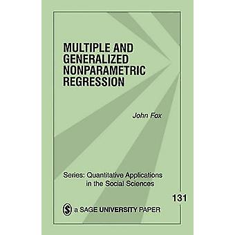 Multiple and Generalized Nonparametric Regression by Fox & John