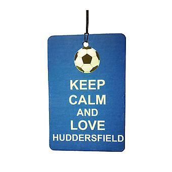 Keep Calm And Love Huddersfield Car Air Freshener