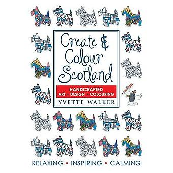 Créer & coloris Ecosse - coloriage - dessin - Art - Design by Yvett
