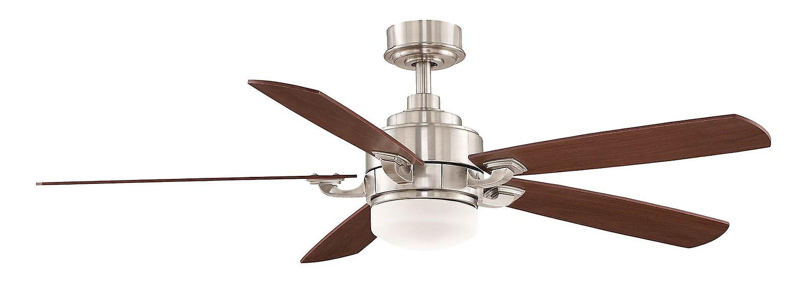 Ceiling fan THE BENITO 132cm   52& 034; Chrome with light