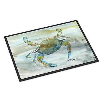 Blue Crab #2 Watercolor Indoor or Outdoor Mat 18x27