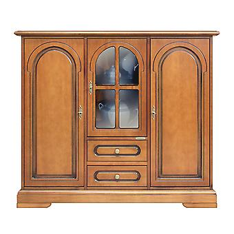 Cupboard with central door with cabinet