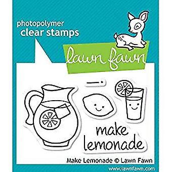 Lawn Fawn Clear Stamps Make Lemonade (LF395)