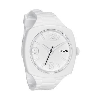Nixon das Zifferblatt weiss Damenuhr (A265100)