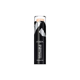 L' Oreal infallible Longwear Shaping Stick Foundation 9g trufas #232
