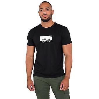 Alpha Industries Men's T-Shirt Box Logo
