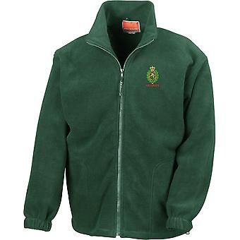 Royal Regiment Of Fusiliers Crest Veteran - Licensed British Army Ricamato Heavyweight Fleece Jacket