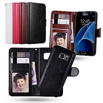 Samsung Galaxy S7 Edge-Wallet balance magnétique/pochette
