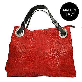 Handbag made in leather Italy 80059