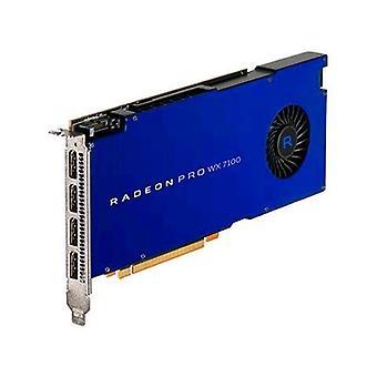 AMD Radeon Pro WX 7100 grafikkort 8GB GDDR5 PCI Express 3,0 gränssnitt med fläkt