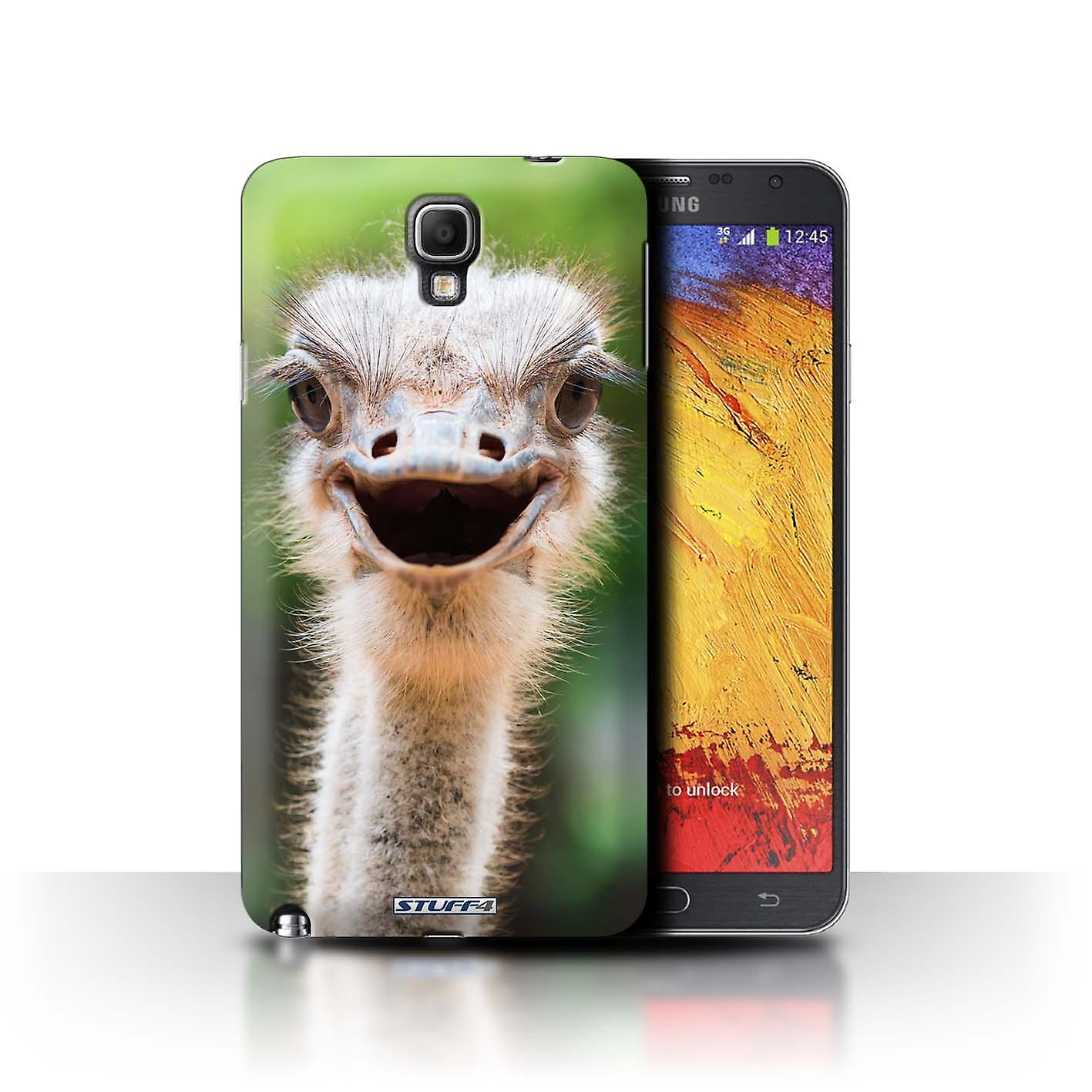 STUFF4 Case/Cover For Samsung Galaxy Note 3 Neo/Ostrich