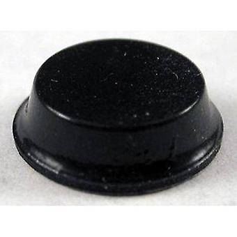 Hammond Electronics 1421T2 Foot self-adhesive, circular Black (Ø x H) 12.7 mm x 3.5 mm 24 pc(s)