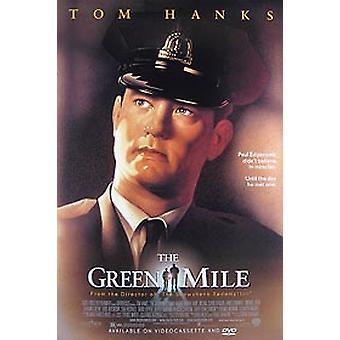 Vihreä Mile (video) alkuperäinen video/DVD-mainos juliste