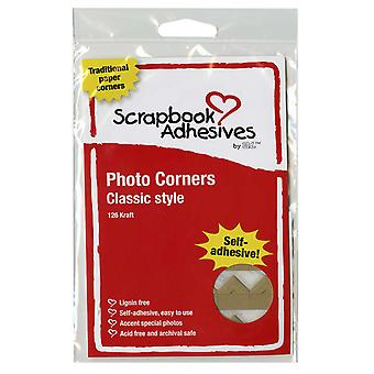 Classic Style Paper Photo Corners .5