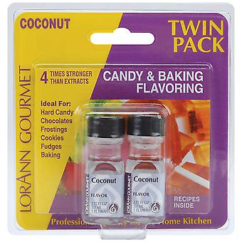 Candy & Baking Flavoring .125 Ounce Bottle 2 Pkg Coconut Flavor 0220