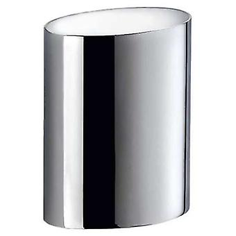Pomd'or Chrome Holder Surface 9,6X6,5X11 Cm (Bathroom accessories , Toothbrush holder)