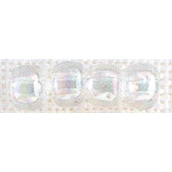 Mill Hill Glass Pebble Beads 5.5mm 30/Pkg-Crystal PBB-05161