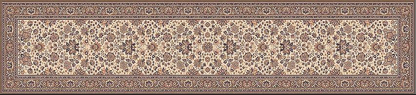 Royal Beige 1561-504 Light beige ground with beige and brown  Rectangle Rugs Traditional Rugs