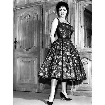 Gina Lollobrigida 1950 Photo Print