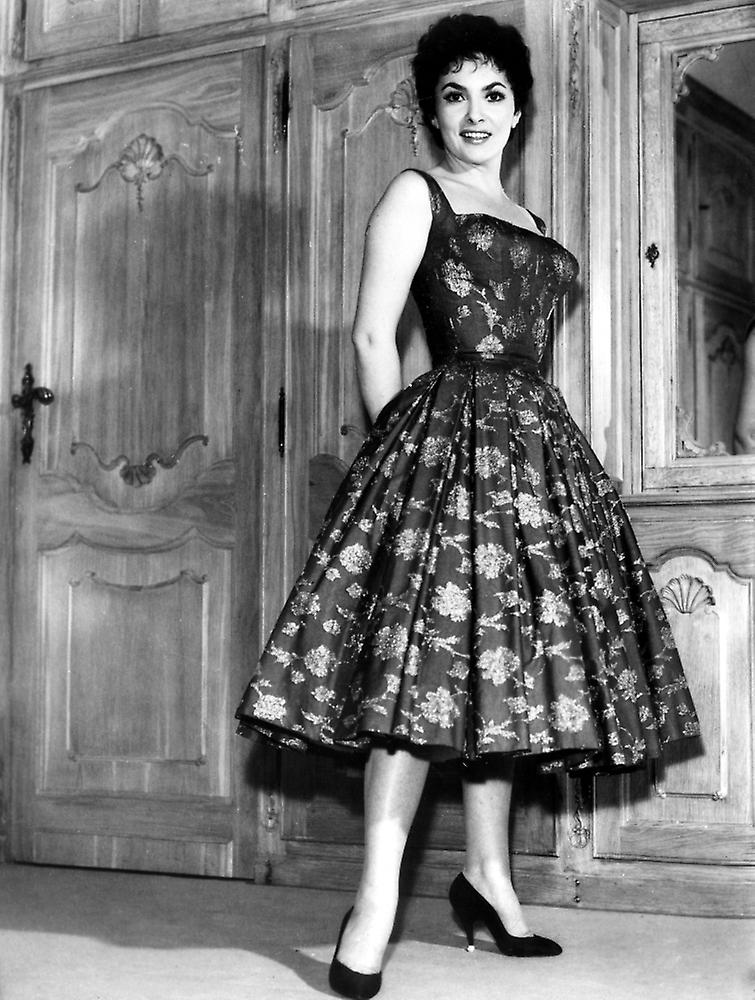 Gina Lollobrigida 1950-Photo Print
