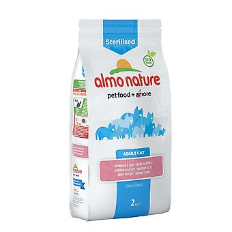 Almo Nature Holistic Sterilised Cat With Salmon And Rice 2kg