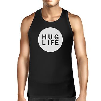 Knus liv mænd Trendy Design ærmeløs Shirt liv citerer gave idé