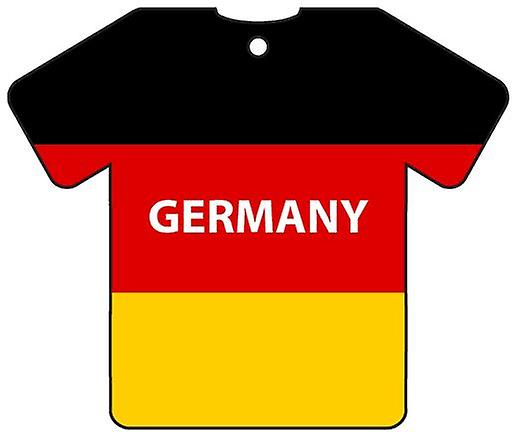 Personalised Germany Flag Jersey Car Air Freshener