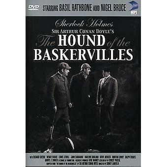 Sherlock Holmes: Hound of the Baskervilles (1939) [DVD] USA import